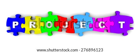 Word Victory On Colorful Puzzles Stock Illustration 272358860 ...
