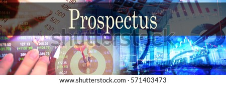 Define the term prospectus