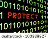 Protect - stock photo
