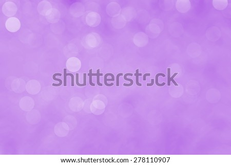 Purple Festive Valentines elegant abstract background with bokeh lights and stars
