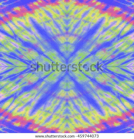 Purple tie dye batik fabric for background and texture.Tie dye purple color. Colorful abstract background.