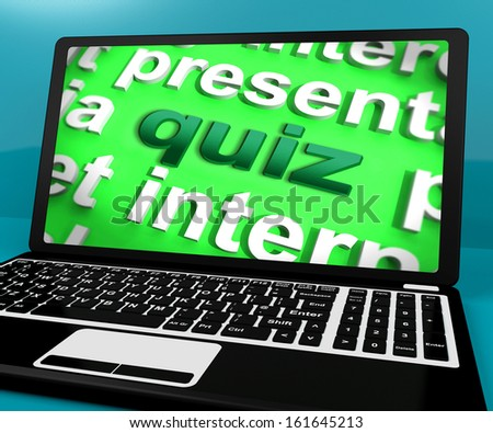 Quiz Computer Meaning Test Quizzes Or Questions Online