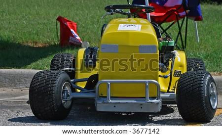 Racing Lawn Mower Stock Photo 3677142 - Shutterstock