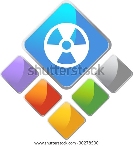 Radiation Diamond Icon