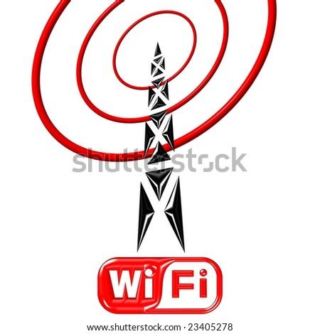 Radio Antenna Stock Illustration 16273768 - Shutterstock