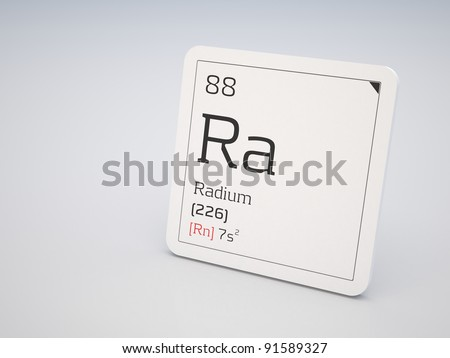 Radium - element of the periodic table