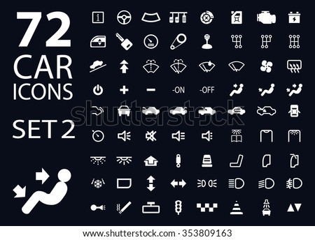 vector collection car dashboard panel indicators stock vector 329151206 shutterstock. Black Bedroom Furniture Sets. Home Design Ideas