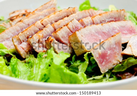 Prosciutto Wrapped Green Asparagus On Grilling Stock Photo ...