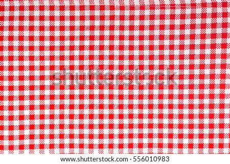 Red And White Linen Tablecloth, Red Checkered Tablecloth Tartan, Red  Gingham Tablecloth Background