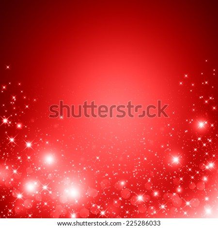 Red christmas abstract background