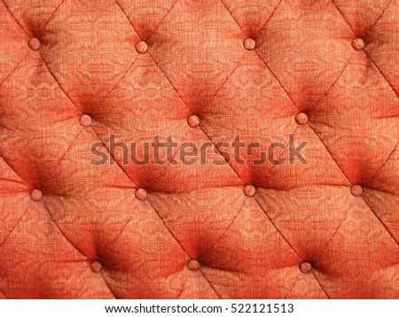 Red cloth sofa texture background