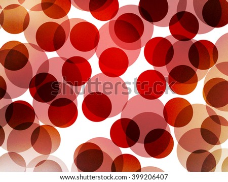 red dots bubbles divide texture background