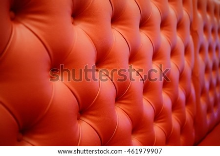 Red Leather Sofa Background