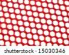 Red Netting - stock photo