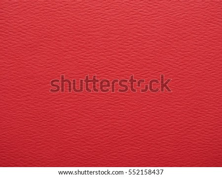 Red paper surface useful as a background