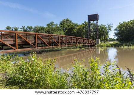 Red River Footbridge