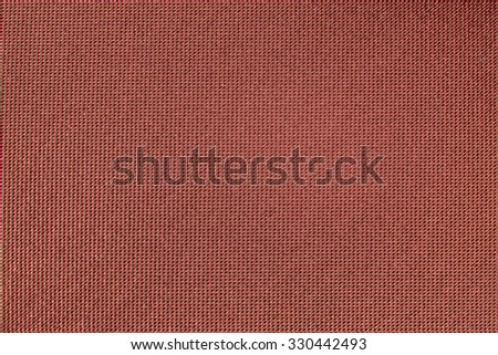 Red smooth canvas textured background.