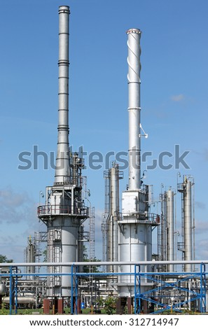 refinery petrochemical plant industry zone