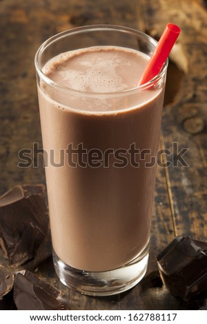 Refreshing Delicious Chocolate Milk with Real Cocoa