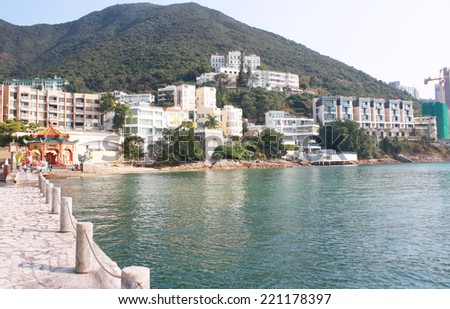 Repulse Bay beach in Hong Kong