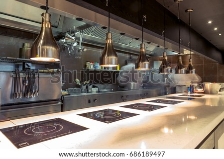 Restaurant Kitchen Interior restaurant open kitchen - creditrestore