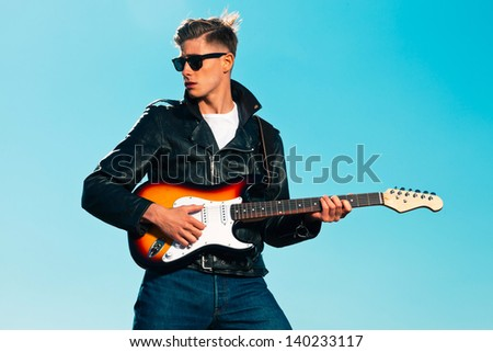 how to play dancing in the sky on the guitar