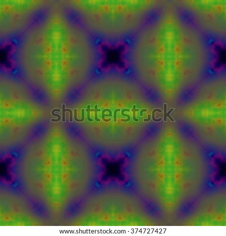 Rich colorful pastel ornament. Seamless pattern or textures. Kaleidoscopic orient popular style