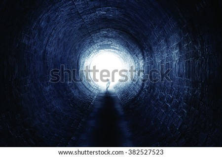 Ride in tunnel