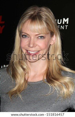 "Riki Lindhome at the ""Hell Baby"" Los Angeles Premiere, Chinese 6, Hollywood, CA 08-19-13"
