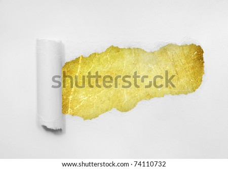 Ripped paper background.