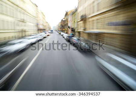 Road in Moscow