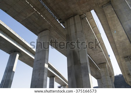 Road viaduct