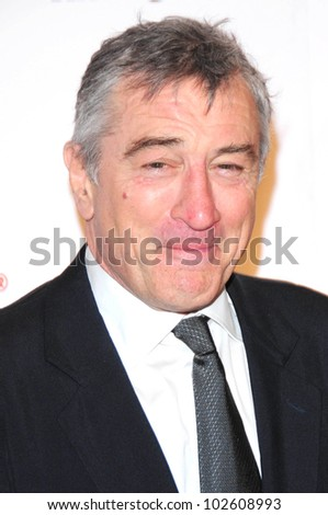 Robert De Niro at the Ninth Annual AARP the Magazine`s Movies for Grownups Awards Gala, Beverly Wilshire Hotel, Beverly Hills, CA. 02-16-10