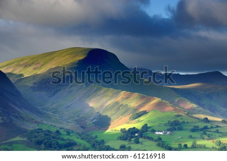 Robinson and the Newlands Valley in the English Lake District