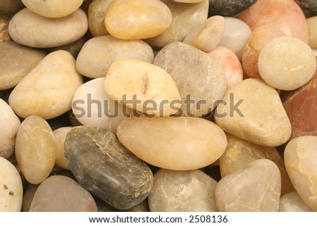 rock pebble background upclose