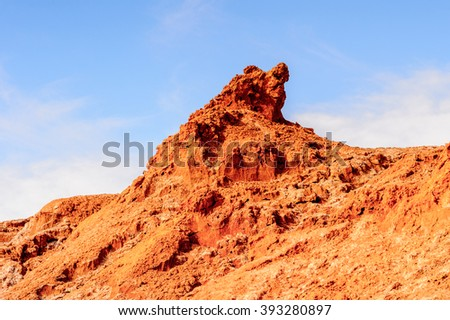 Rocks of the Moon Valley, Atacama Desert, Chile, South America