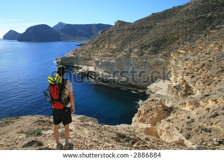Rocky Coast of Cabo de Gata, Spain