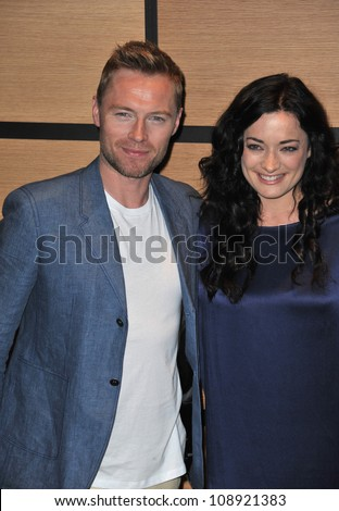 "Ronan Keating & Laura Michelle Kelly promoting their new movie ""Goddess"" at the 65th Festival de Cannes. May 21, 2012  Cannes, France Picture: Paul Smith / Featureflash"
