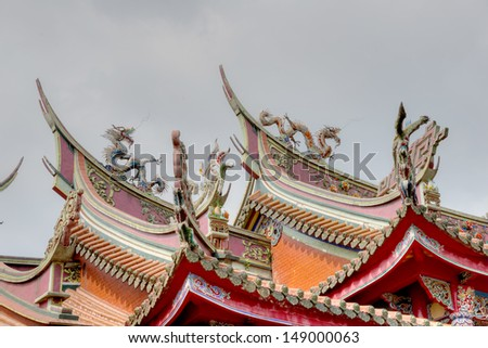 - stock-photo-roof-of-hsing-tian-kong-xingtian-temple-taipei-taiwan-149000063