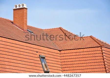 Brick Roof Chimney Ladder Stock Photo 103623017 Shutterstock