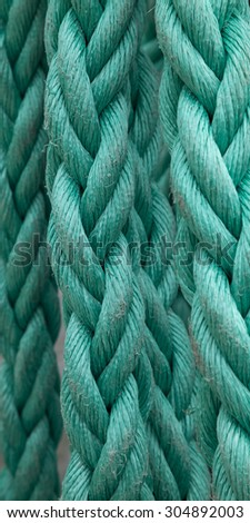 Rope, close-up