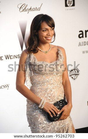 Rosario Dawson at amfAR's Cinema Against AIDS 2007 Gala at Le Moulin de Mougins restaurant just outside Cannes.  May 23, 2007  Cannes, France.  2007 Paul Smith / Featureflash