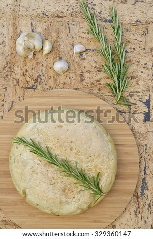 Rosemary garlic bread