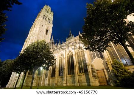 Rouen seinemaritime hautenormandie france facade cathedral for Haute normandie rouen