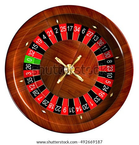 Roulette 3D Illustration
