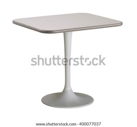Round table isolated