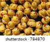 Rubber duck race, Rideau Canal, Ottawa, Ontario, Canada - stock photo