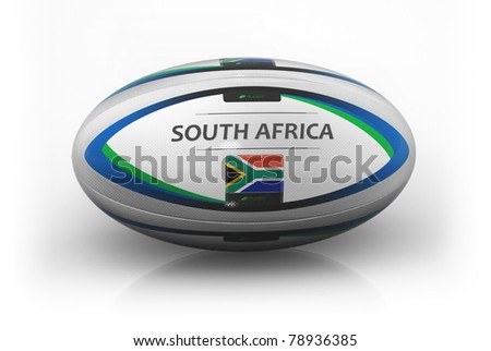 Rugby Ball  South Africa