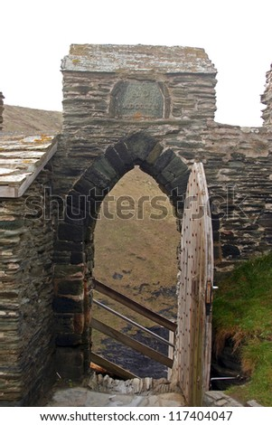 Ruins of Tintagel Castle, Cornwall