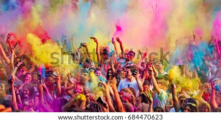 holi festival color stock photo 566012020 shutterstock. Black Bedroom Furniture Sets. Home Design Ideas